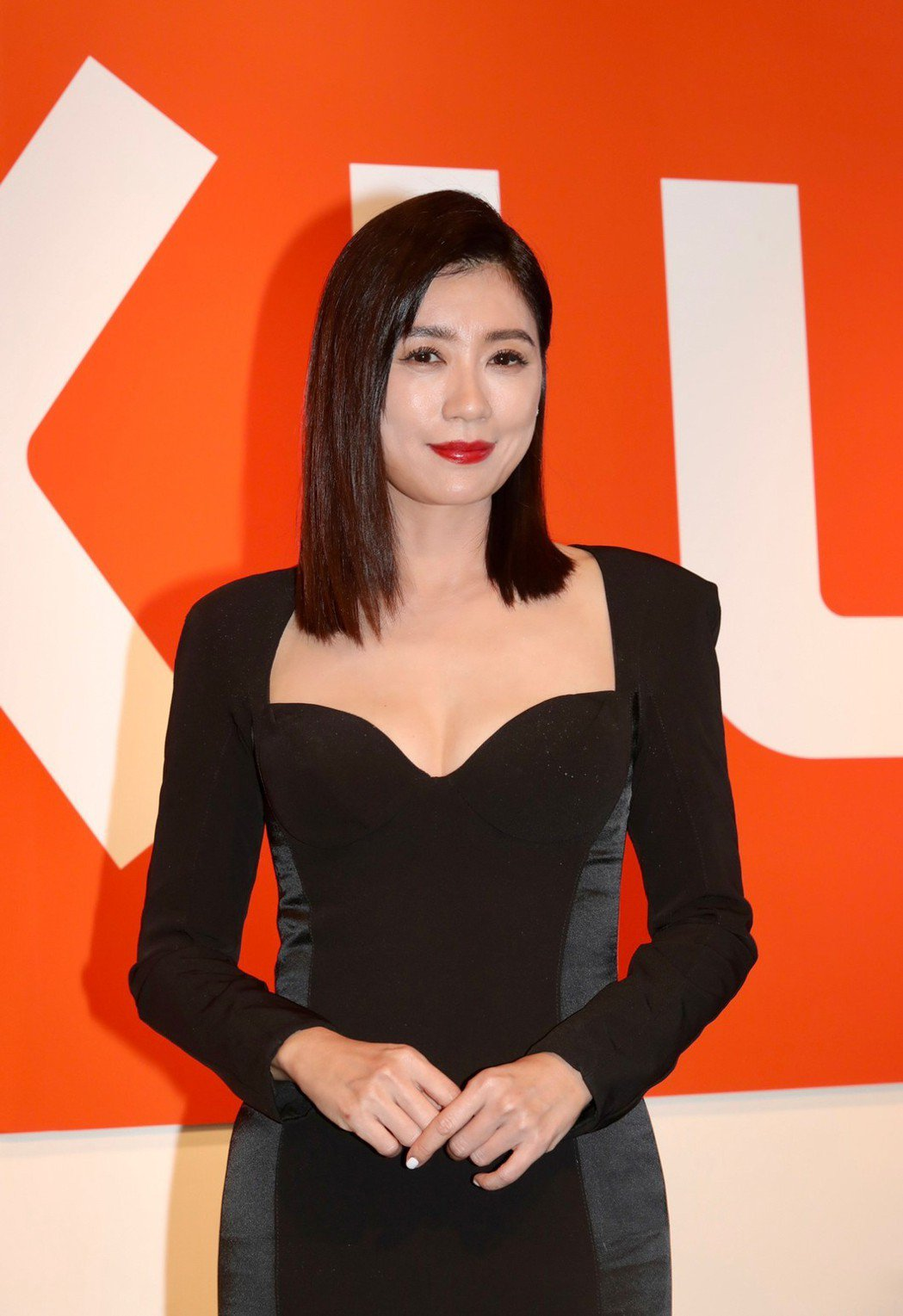賈靜雯出席代言活動。記者李政龍/攝影