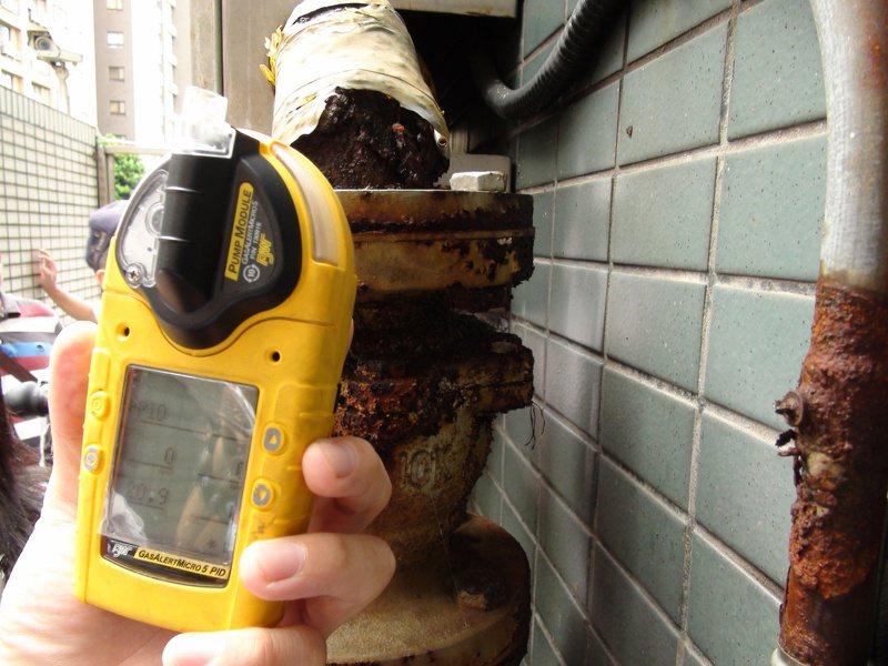 天然氣使用普遍,不少大樓外牆都有天然瓦斯管線經過,但鄰居之間的糾紛也層出不窮。圖為示意。圖/聯合報系資料照片