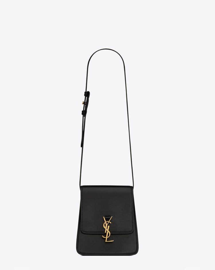 North/South Kaia黑色梯形肩背包,60,900元。圖/Saint ...
