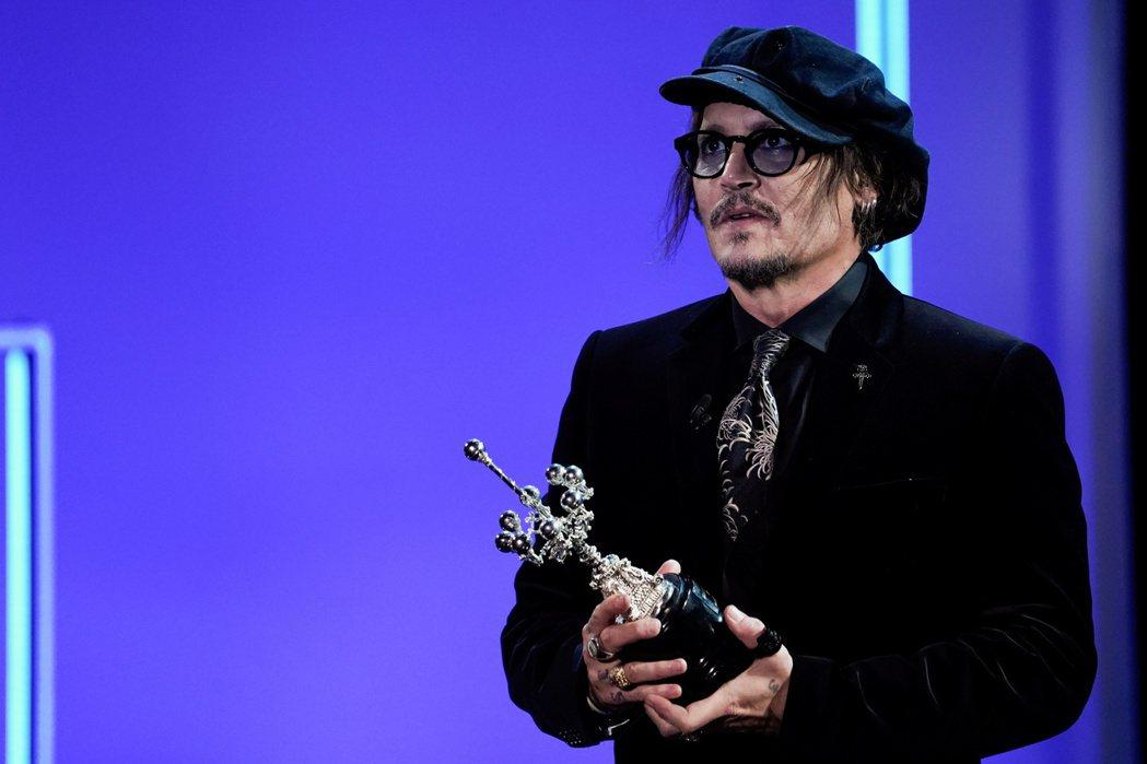 強尼戴普獲聖賽巴斯提安影展頒發成就獎。(路透資料照片)