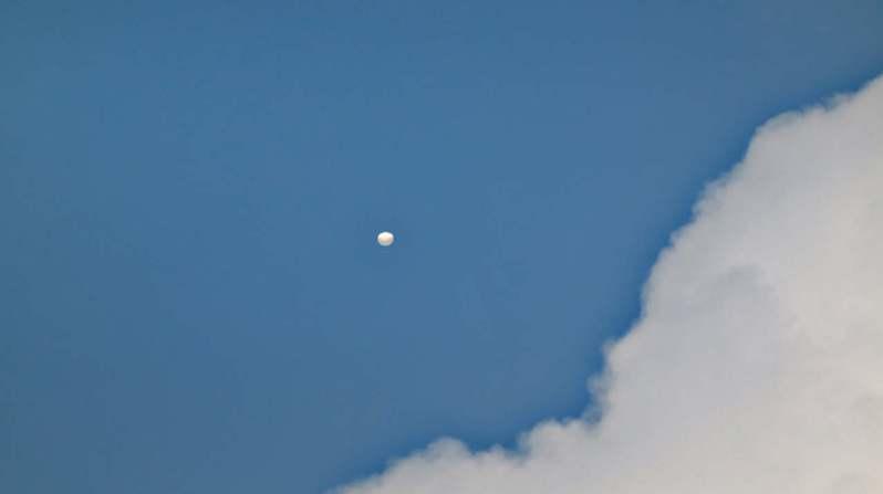許多台北居民今早在天空見UFO(不明飛行物),狂打電話給台北市立天文館。圖/摘自台北天文通