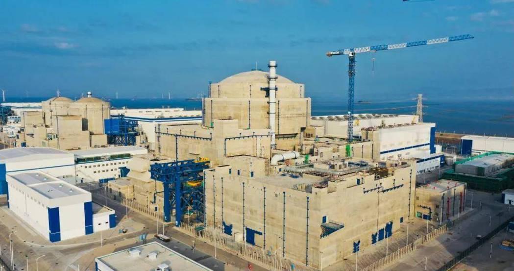 大陸「華龍一號」全球首推—中核集團福清核電5號機組,已投入商業使用。(圖/取自中...