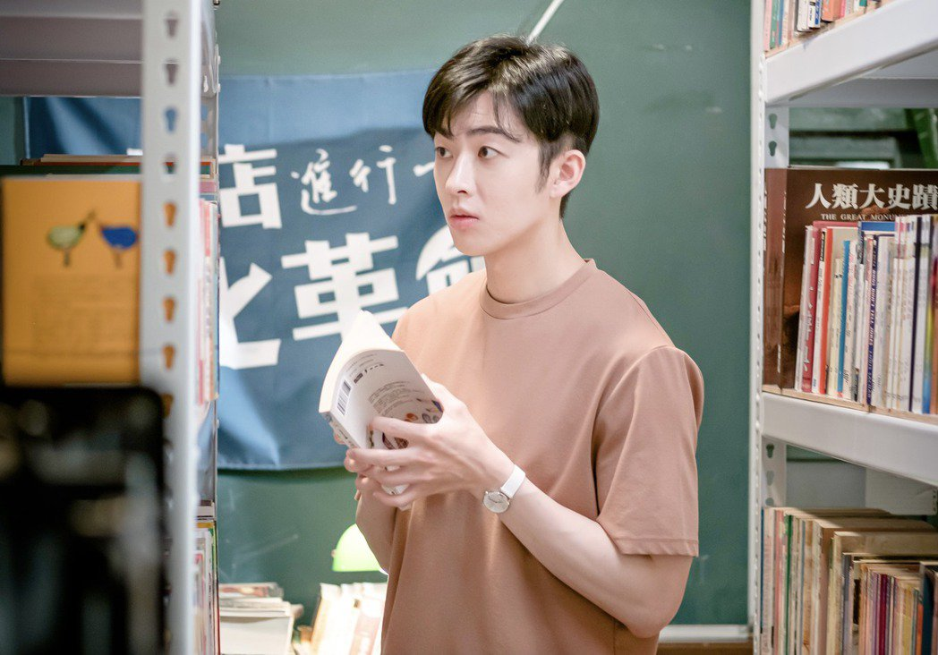 蕭子墨以「不讀書俱樂部」入圍釜山影展亞洲內容獎最佳男新人。圖/三和娛樂、myVi