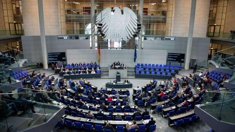 德國聯邦議會的議事堂。shutterstock