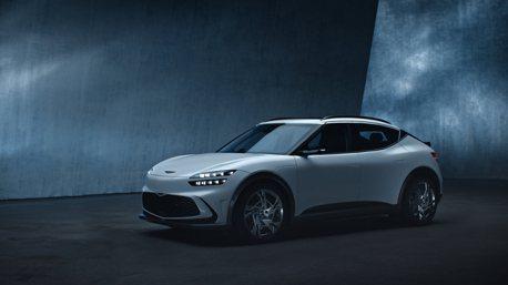 電動休旅GV60預告30日亮相 Genesis宣布2030年起轉型純電豪華品牌!