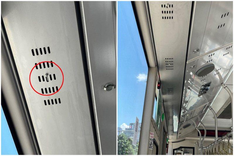 一名男網友搭公車時,看到老奶奶按下「神秘按鈕」後,才安心坐下,讓他感到相當疑惑。圖/翻攝自Dcard