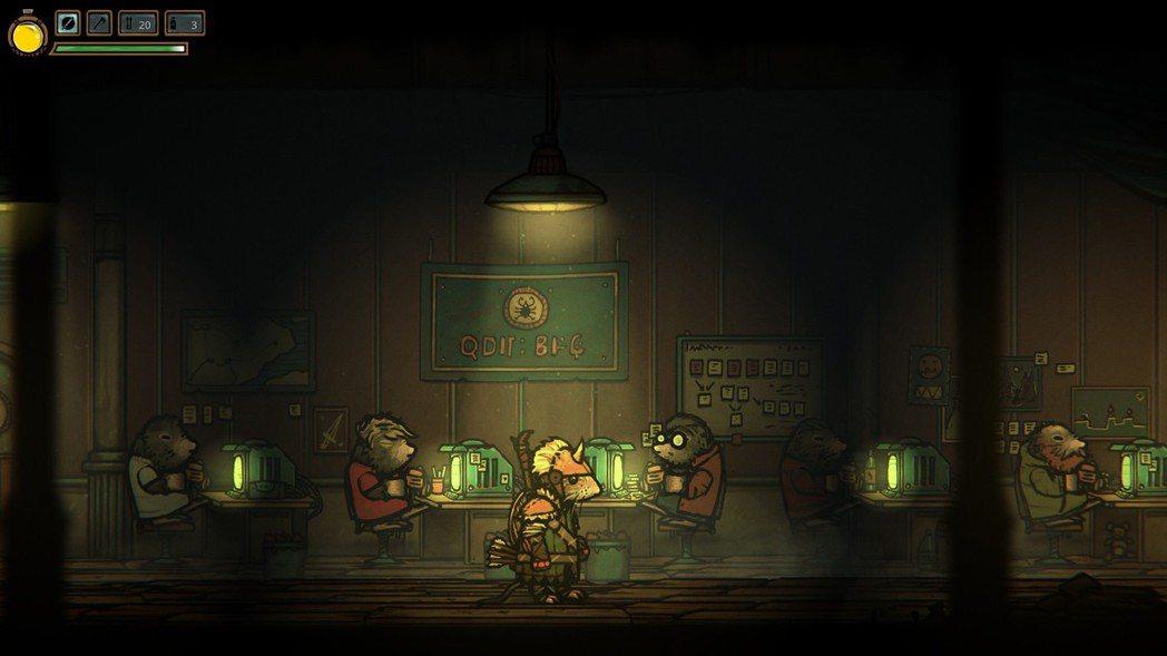 老鼠 GAME 的製作組是一群老鼠也是很正常的事