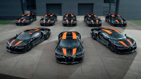 首批八輛Bugatti Chiron Super Sport 300+終於出廠 極速快到你會怕!