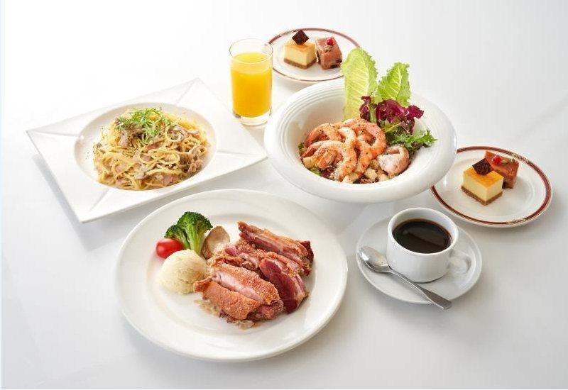 麗香苑雙人經典套餐。 台北福華/提供