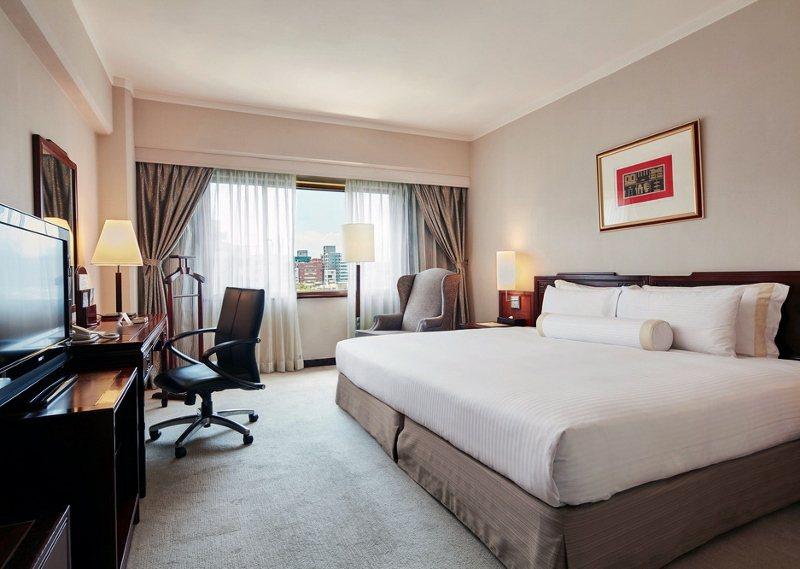 台北福華大飯店客房照。 業者/提供