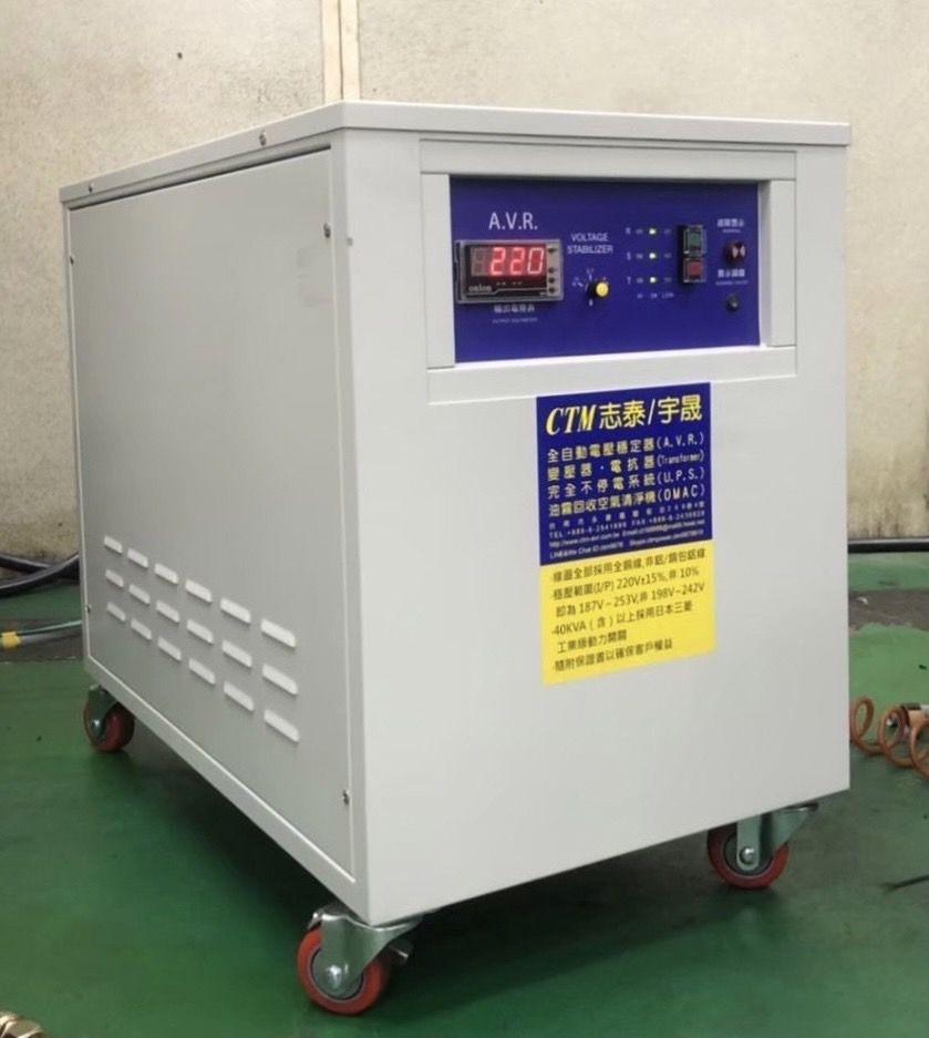 CTAM全自動穩壓器,多種全新功能,為「穩壓器」詮釋新的定義。 志泰/提供