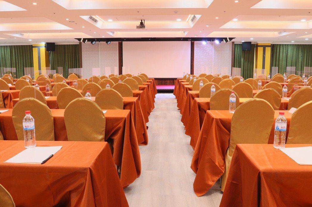 谷關馬崙宴會廳,大型會議空間,可變化多樣會議型態。統一渡假村∕提供