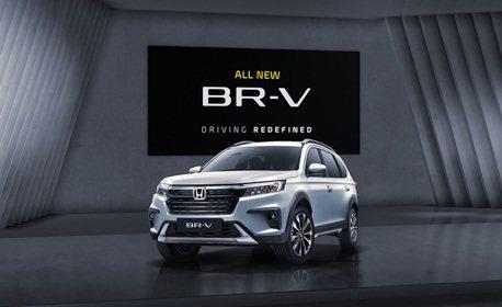 具備MPV般的實用性 大改款Honda BR-V七人座跨界休旅於印尼發表上市!