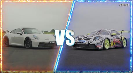 影/不能上路的賽車真的比市售車快嗎? Porsche 911 GT3 Cup VS. GT3!