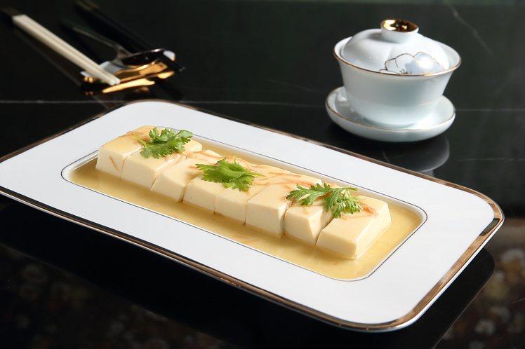 太史滑豆腐,每份580元。記者陳睿中/攝影