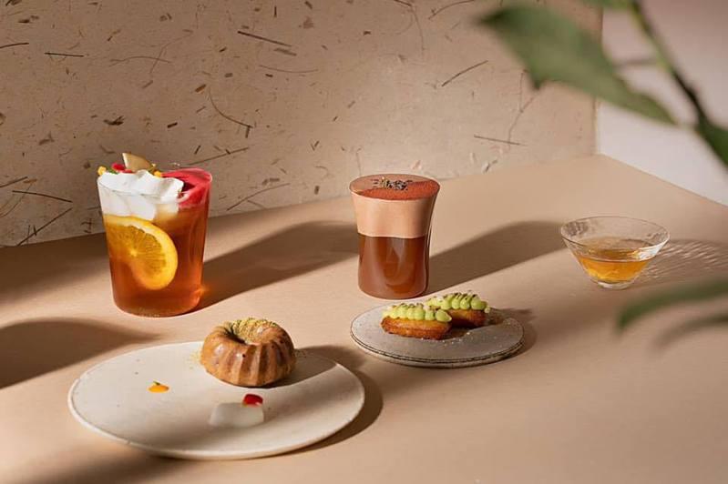 One Tree Hill將茶道與法式甜點相互結合,推出一系列「茶甜點」。圖/擷取自One Tree Hill Taipei粉絲頁