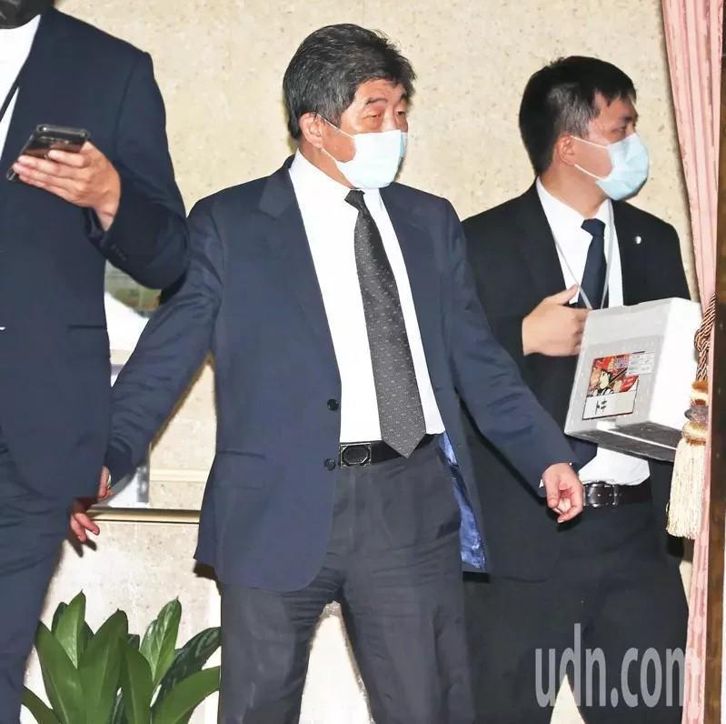 衛福部長陳時中。報系資料照。記者潘俊宏/攝影