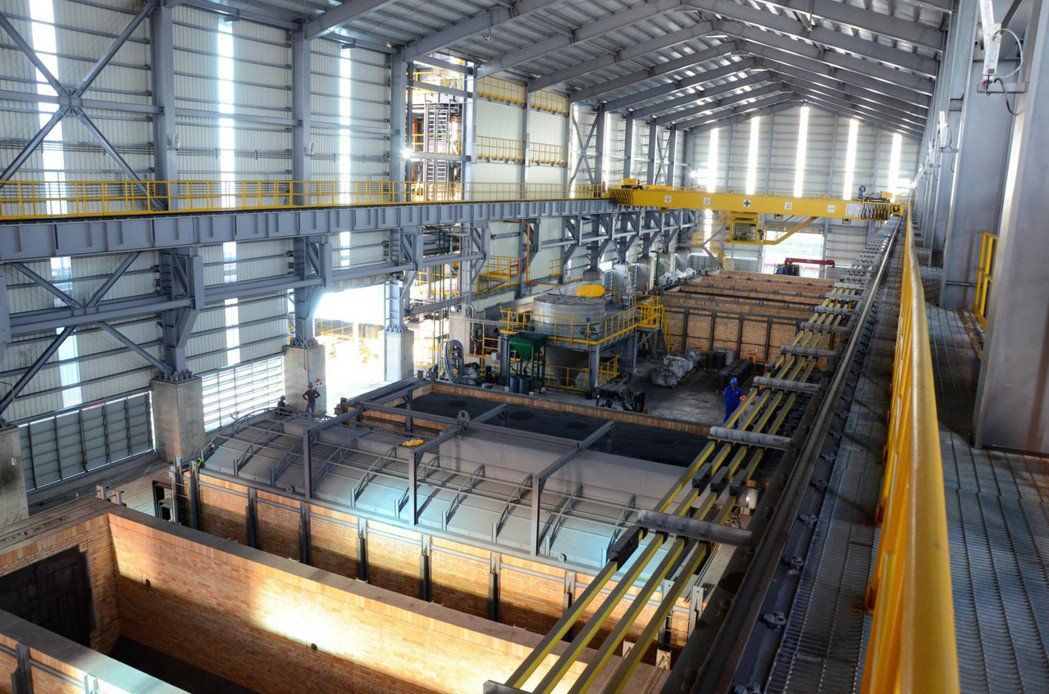 中碳屏南石墨化生產線,具發展潛力。圖/中碳提供