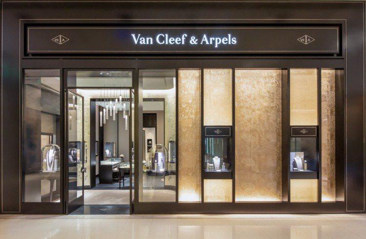 梵克雅寶的全新概念店位於遠東Sogo復興館二樓。圖/梵克雅寶提供