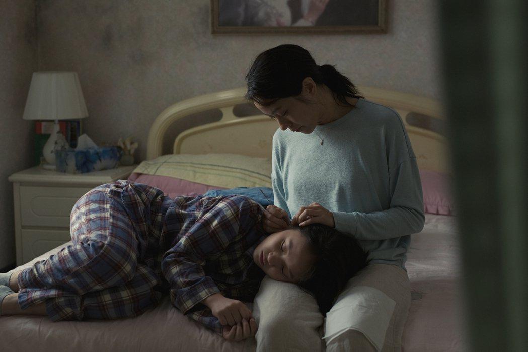 林嘉欣在新片「美國女孩」以母親角色再展演技。圖/傳影提供