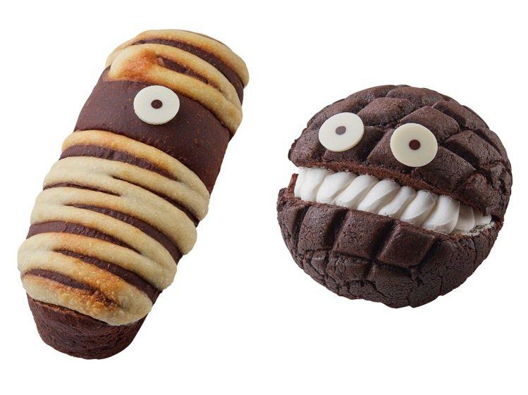 10月1日至10月14日,限定款「木乃伊巧克力」特價25元;限定門市推出的「菠蘿...