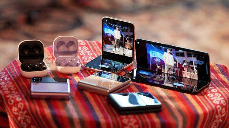 台灣三星攜手「音樂摺學家」打造線上演唱會,以科技扶植在地創作能量。圖/台灣三星提...