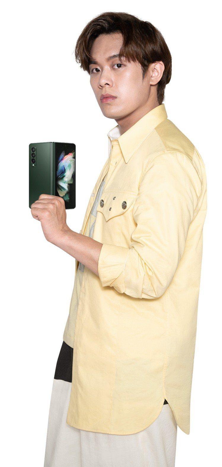 告五人雲安表示Samsung Galaxy Z Fold3 5G支援S Pen,...