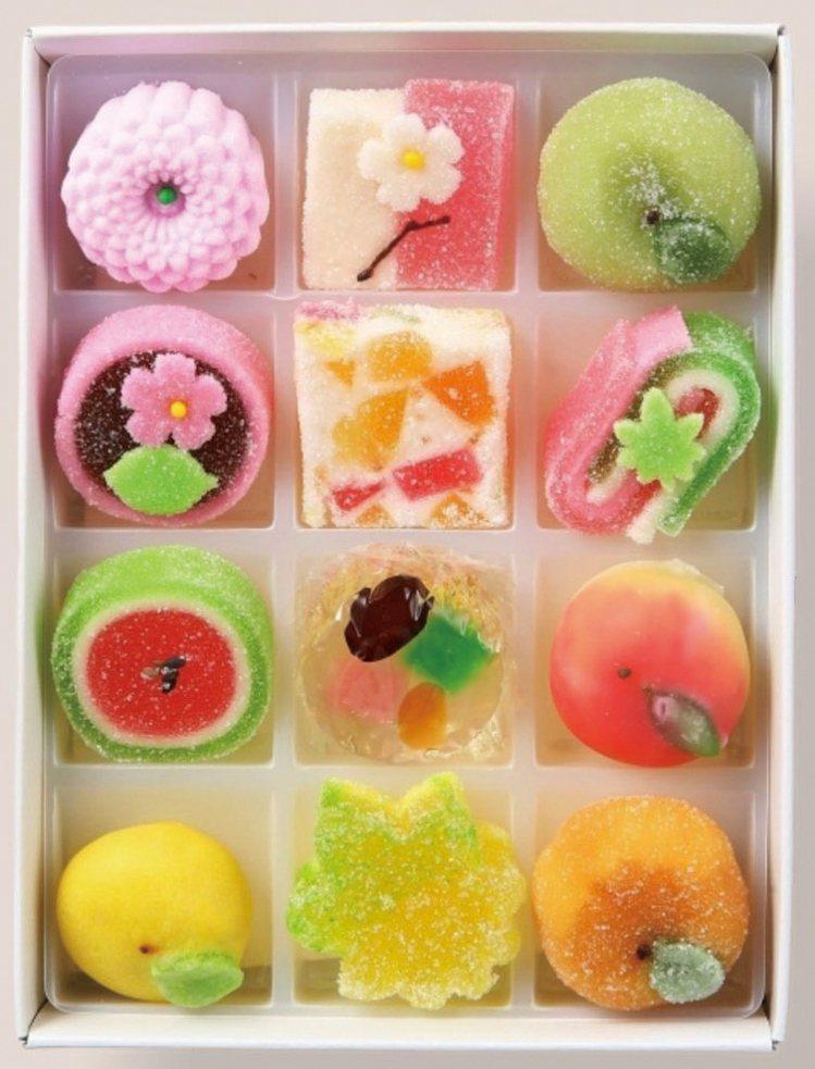 京都高野屋貞広半生菓子,售價500元(任選12個)。圖/SOGO提供