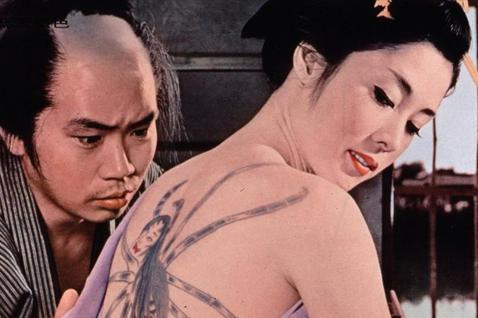 蜘蛛《刺青》的藝妓:刻劃日本女性愛恨交織的經典悲劇