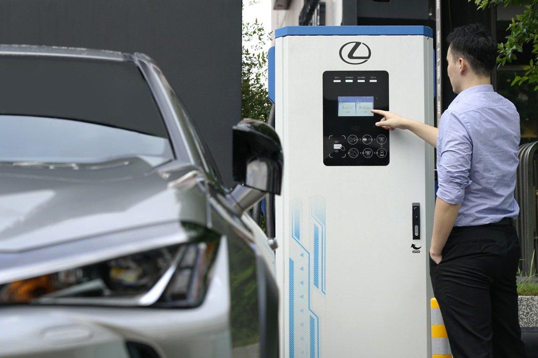 如有充電需求,車主可至全台Lexus快充站點或Lexus充電夥伴-華城電能 (E...