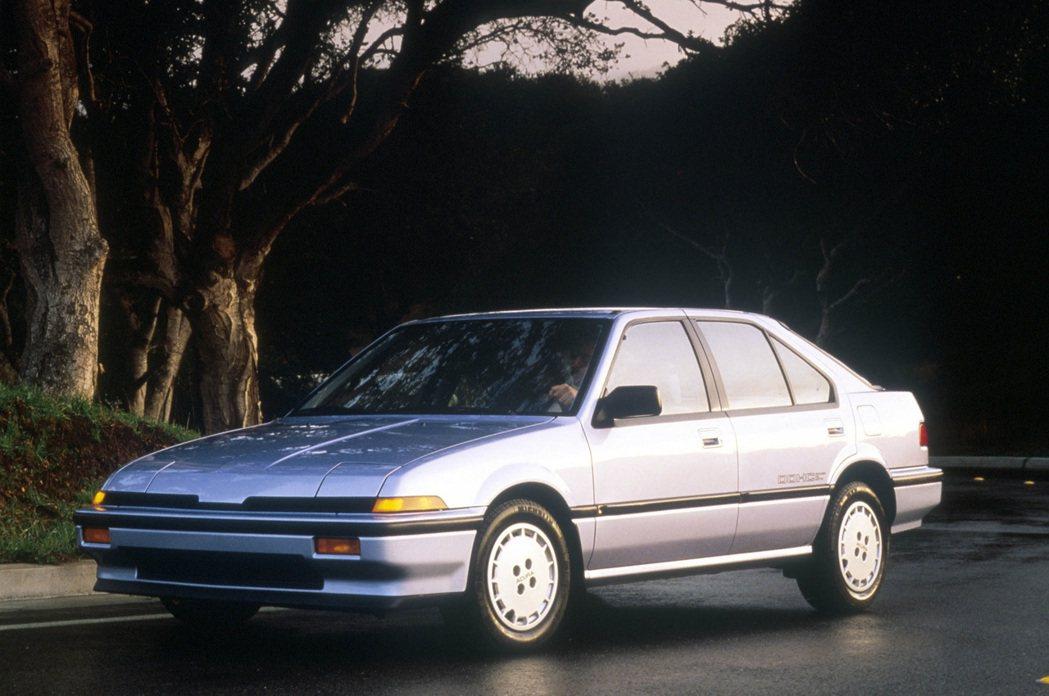 第一代Acura Integra。 摘自Acura