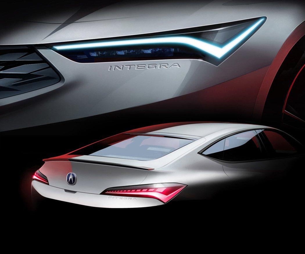 全新一代Acura Integra全貌即將揭曉。 摘自Acura