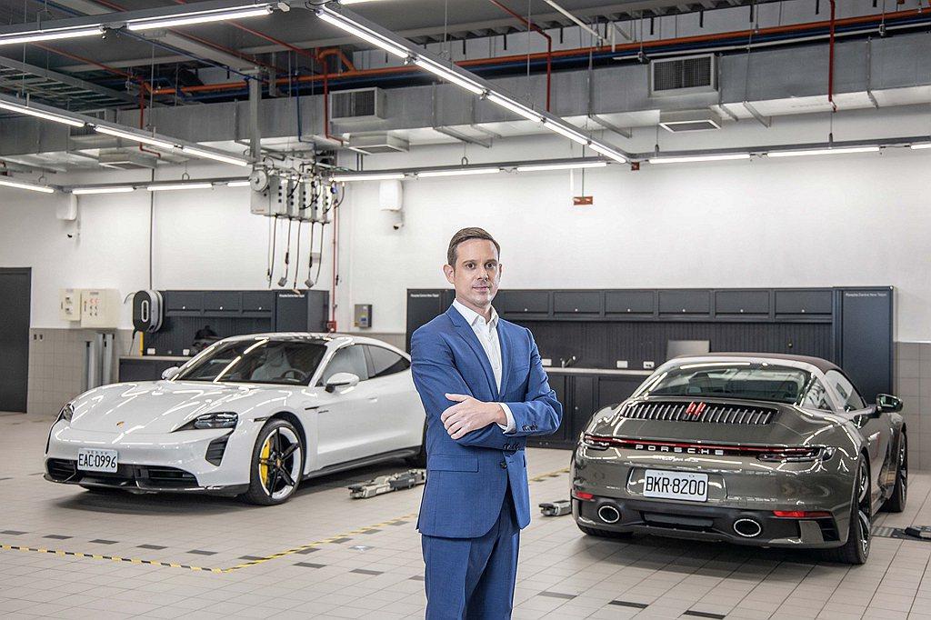 台灣保時捷售後處長Trevor Baseggio包勝傑表示:「Porsche A...