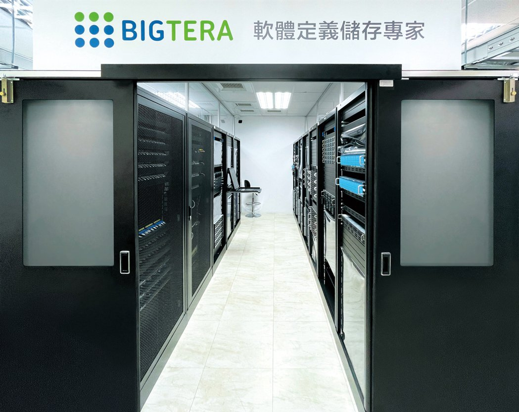 Bigtera的功能驗證與整合測試展示中心。數位無限軟體/提供