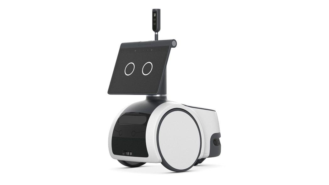 聲控家用機器人Astro。美聯社
