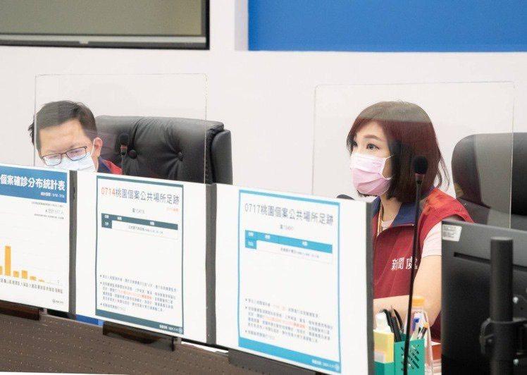 昨天桃園市政府副發言人吳安琪表示,國民黨前立委陳學聖對藻礁的關心除了音樂會還有什麼。圖/市府提供