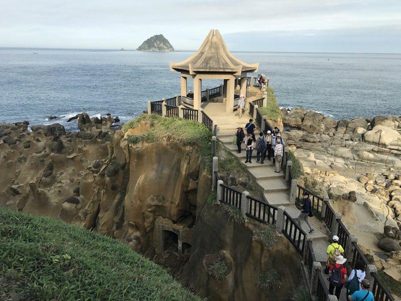 基隆和平島是首部西班牙台灣史小說「艾爾摩莎的瑪利亞」最主要的場景。 圖/聯合報系資料照片