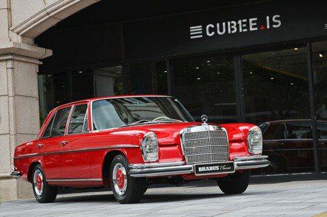亞洲首發BRABUS Classic六星級整新工藝 賓士骨董車再現當年英姿