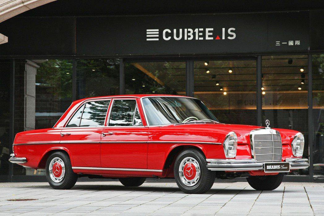 三一東林公開發表經過完全整新修復的1971年賓士280S(W108),不僅首度在...
