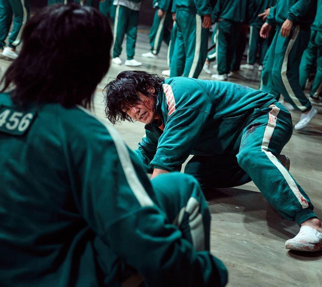 《魷魚遊戲》飾演張德秀的許成泰。 圖/擷自許成泰IG