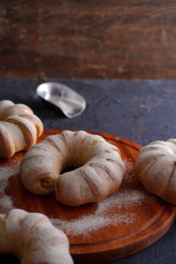 黑糖QQ麵包。 圖/采實文化