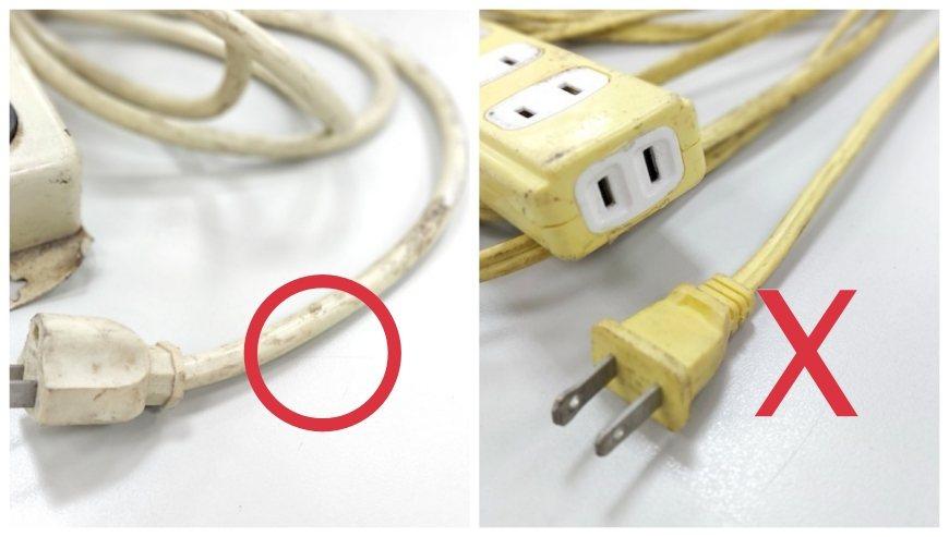 電線的包覆材料應選擇外觀平滑者(左圖),因為有槽是單層披覆(右圖),無槽平滑的是...