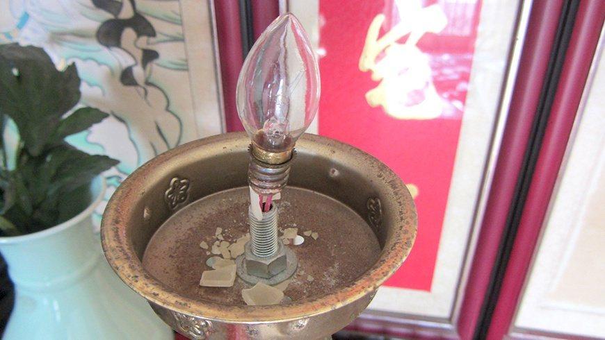 建議用燈的電線若手觸有熱度就該更換,並且連續使用一段時間後需關閉。 圖/主婦聯盟...