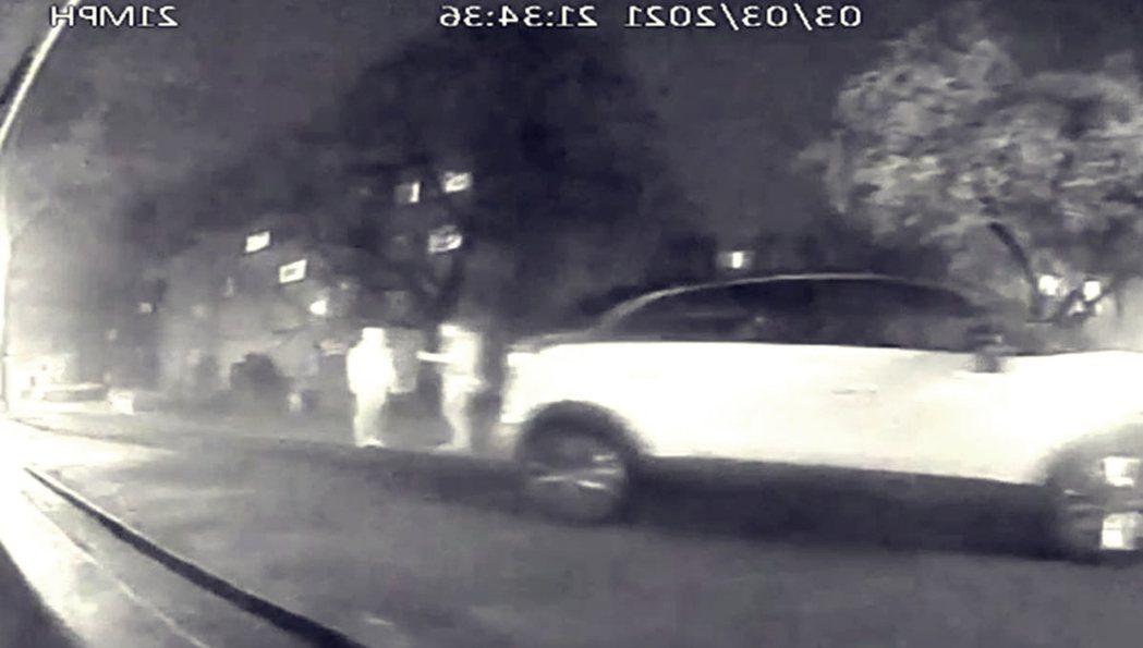 倫敦街頭監視器錄到的最後身影。 圖/倫敦警察廳