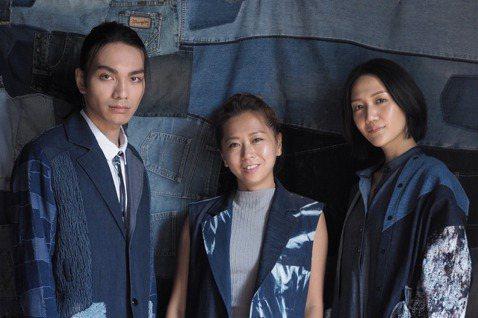 陳冠百(中)憑著一隻筆,開始將永續時尚帶進台灣。 圖/Story Wear提供