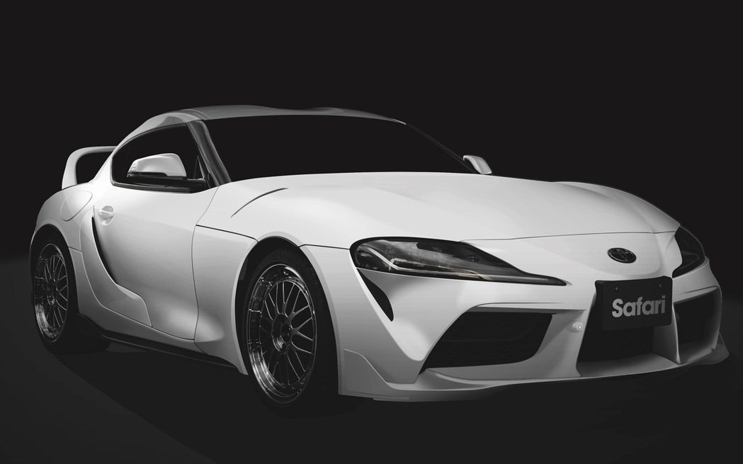Tom's Racing X Safari Toyota Supra。 摘自TO...
