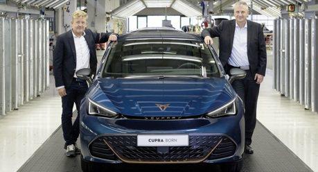 Cupra Born電動車正式下線 強調SEAT汽車新時代的來臨