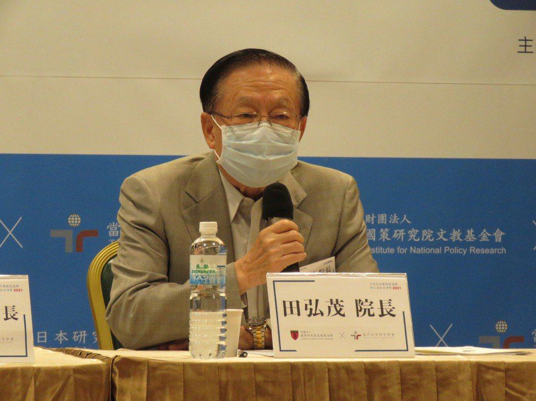 國策研究院、當代日本研究學會今共同舉辦「日本自民黨總裁選舉與台海安全情勢」座談會...