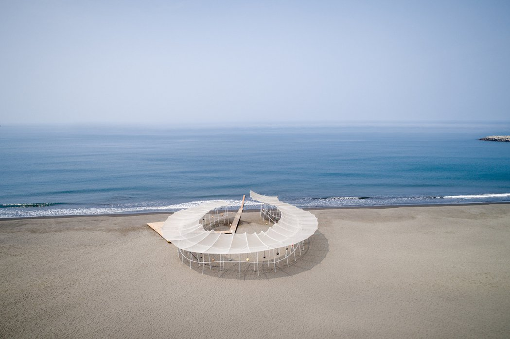 《海潮你的方向吹來》南藝大建築所B群。 圖/都市藝術工作室提供