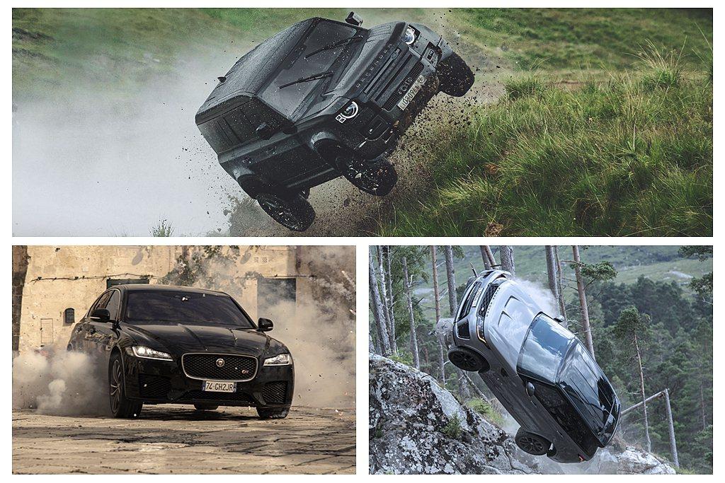 Jaguar Land Rover再度以007電影全球合作夥伴的身分與詹姆斯龐德...